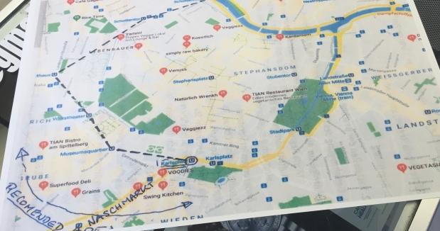 Trip Planning in 3 Parts:Vienna